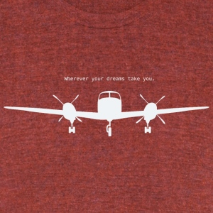 Wherever your dreams take you - Unisex Tri-Blend T-Shirt by American Apparel