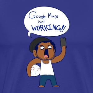 Google Maps - Men's Premium T-Shirt