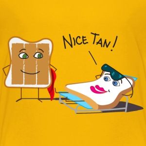 Tanning and Tanned Toast Kids' Shirts - Kids' Premium T-Shirt