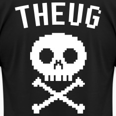 The Urban Geek 8-bit Skull
