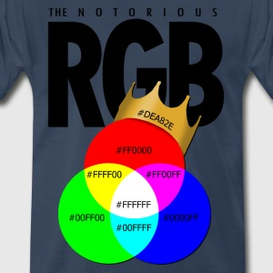The Notorious RGB T-Shirts - Men's Premium T-Shirt