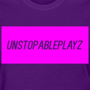 womens t shirt UnstopablePlayz - Women's T-Shirt