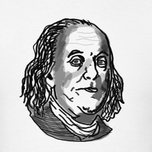 Ben Franklin shirt - Men's T-Shirt