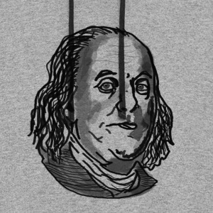 Ben Franklin sweater - Colorblock Hoodie