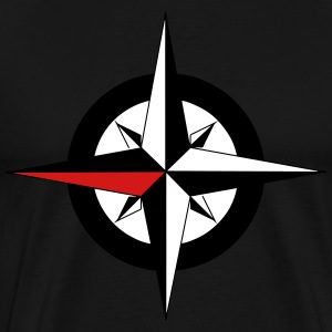 Compass Star - Men's Premium T-Shirt