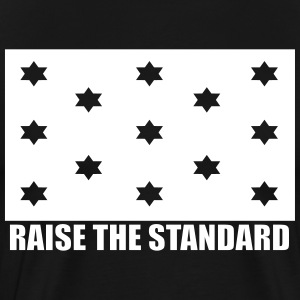 Raise The Standard Logo - Men's Premium T-Shirt