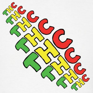 thc rasta shirt - Men's T-Shirt