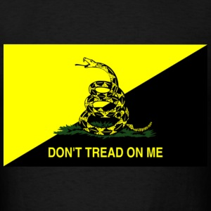 Ancap Don't Tread on Me - Men's T-Shirt