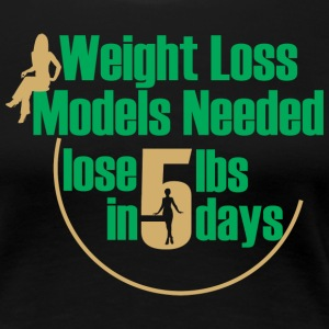 WEIGHT LOSS BUSINESS WOMAN TEE - Women's Premium T-Shirt