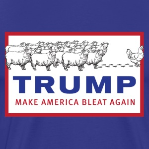 Make America Bleat Again Shirt - Men's Premium T-Shirt