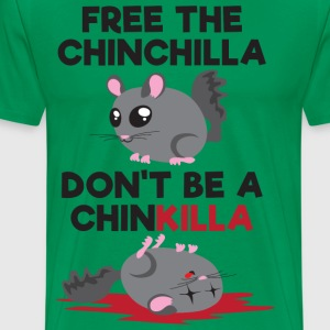 FREE THE CHINCHILLA - Men's Premium T-Shirt