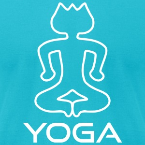 Yoga relaxation T-Shirts - Men's T-Shirt by American Apparel