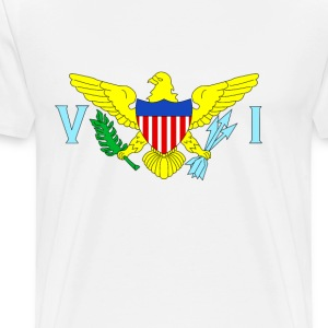 U.S. Virgin Islands - Men's Premium T-Shirt