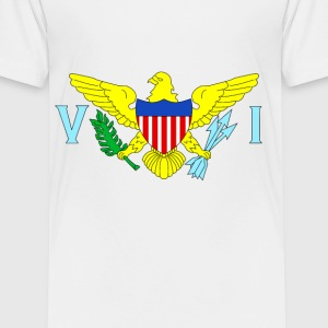 U.S. Virgin Islands - Toddler Premium T-Shirt