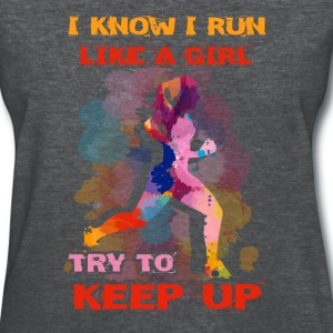 Running - Keep up - Women's T-Shirt