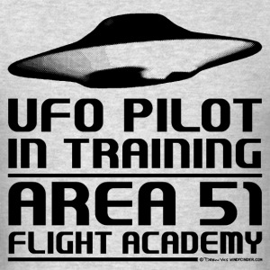 Area 51 UFO Pilot T-Shirts - Men's T-Shirt