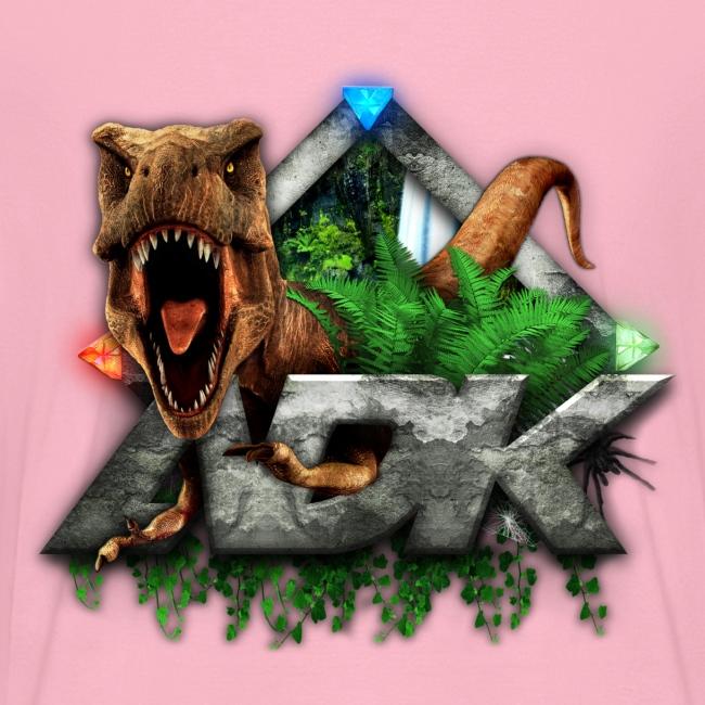 ADK Dino - Womens V-Neck
