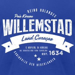 Willemstad, Curaçao T-Shirts - Men's T-Shirt by American Apparel