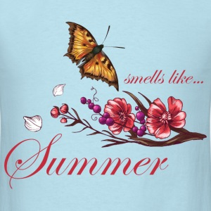 smells_like_summer_butterfly_05201601 T-Shirts - Men's T-Shirt