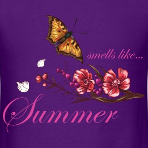 smells_like_summer_butterfly_05201603 T-Shirts - Men's T-Shirt