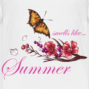 smells_like_summer_butterfly_05201603 Baby & Toddler Shirts - Toddler Premium T-Shirt