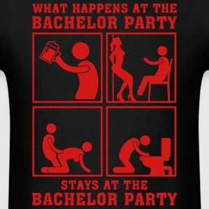 what_happens_at_the_bachelor_party_05201 T-Shirts - Men's T-Shirt