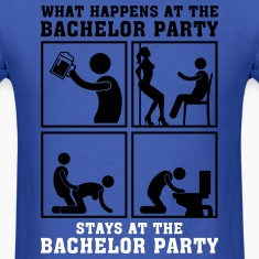 what_happens_at_the_bachelor_party_05201 T-Shirts