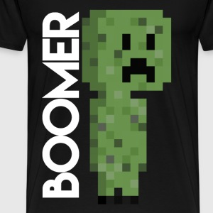 Minecraft Creeper Pixel art shirt - Men's Premium T-Shirt
