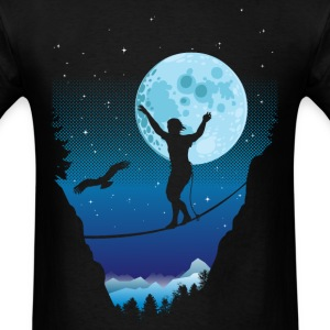 Moonlight slackline - Men's T-Shirt