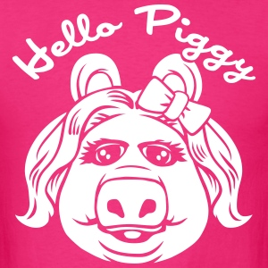Hello piggy - Men's T-Shirt