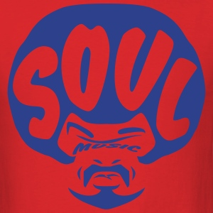 Soul music - Men's T-Shirt