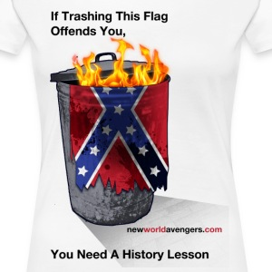 No, YOU need a history lesson (with sources on bac - Women's Premium T-Shirt