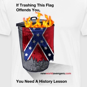 No, YOU need a history lesson - Men's Premium T-Shirt