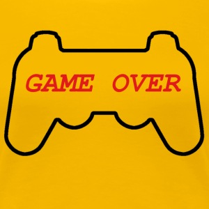 GAME OVER - Women's Premium T-Shirt