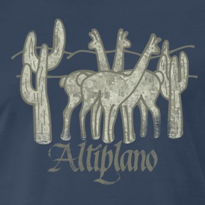 Guanacos of the Altiplano - Men's Premium T-Shirt