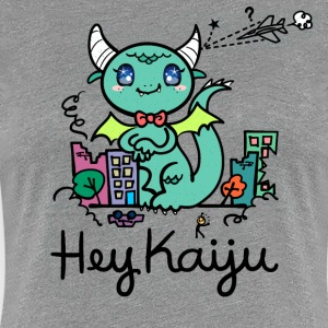 Hey Kaiju! Cute Monster - Women's Premium T-Shirt