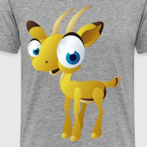 Antelope kid cartoon - Men's Premium T-Shirt