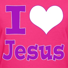 I Heart Jesus - Purple