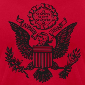 Great Seal of the United States logo t shirt - Men's T-Shirt by American Apparel