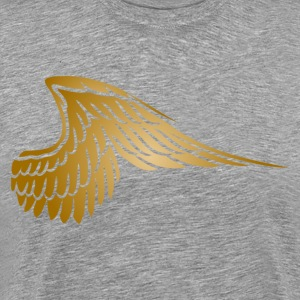 Golden hawk wing T-Shirts - Men's Premium T-Shirt