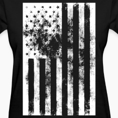 American Flag distressed t shirt