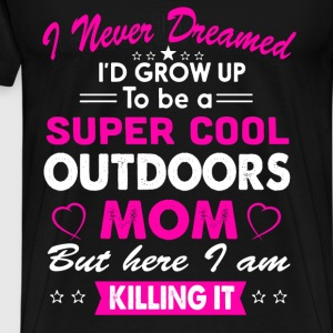 Super Cool Outdoors Mom T-Shirt T-Shirts - Men's Premium T-Shirt