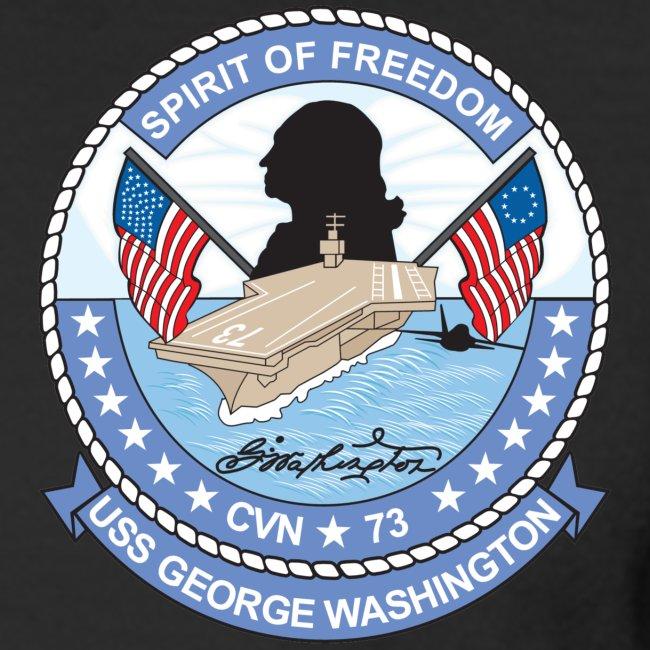 USS GEORGE WASHINGTON 2008 CRUISE SHIRT -  FULL CRUISE - LONG SLEEVE