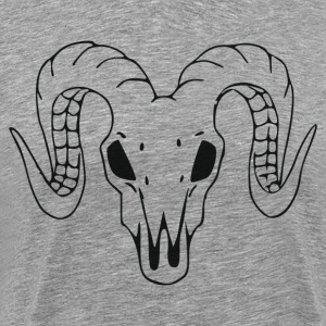 Animal head with horns T-Shirts - Men's Premium T-Shirt