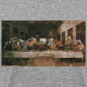 Dino supper - Men's Premium T-Shirt