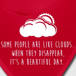 Some People Are Like Clouds Caps - Bandana