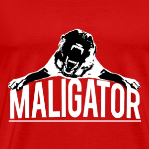Belgian Malinois - Maligator - Men's Premium T-Shirt