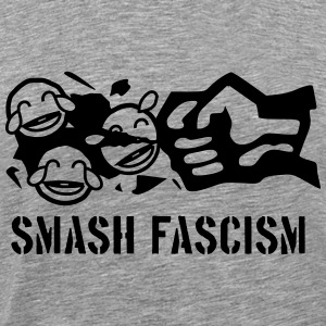 Smash Smileyism - Men's Premium T-Shirt
