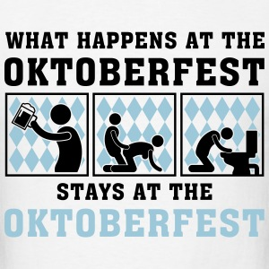 what_happens_at_the_oktoberfest_052016a_ T-Shirts - Men's T-Shirt