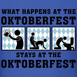 what_happens_at_the_oktoberfest_052016b_ T-Shirts - Men's T-Shirt